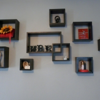 Wall Cube Display