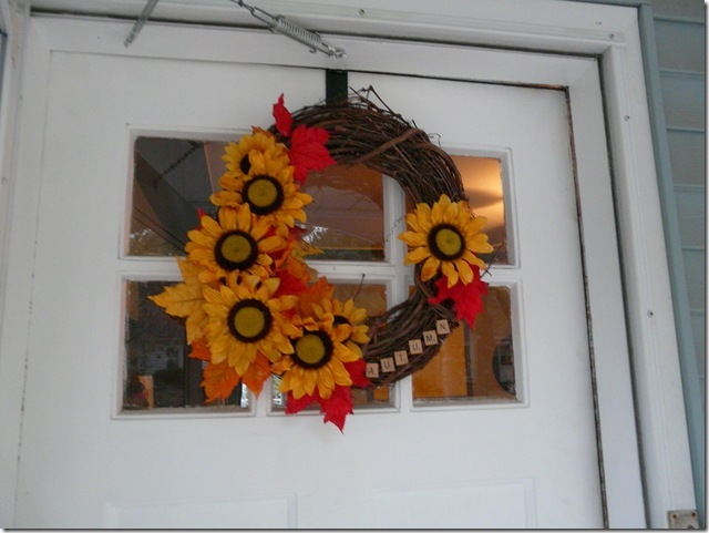 fall wreath 2012