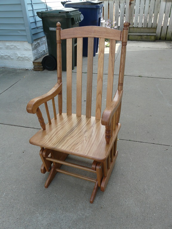homemade rocking chair plans