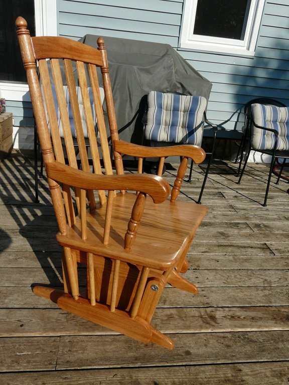 plans for wooden rocking chair