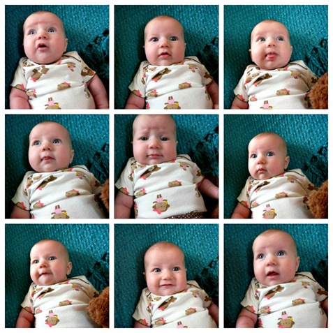many faces of Ellery Collage