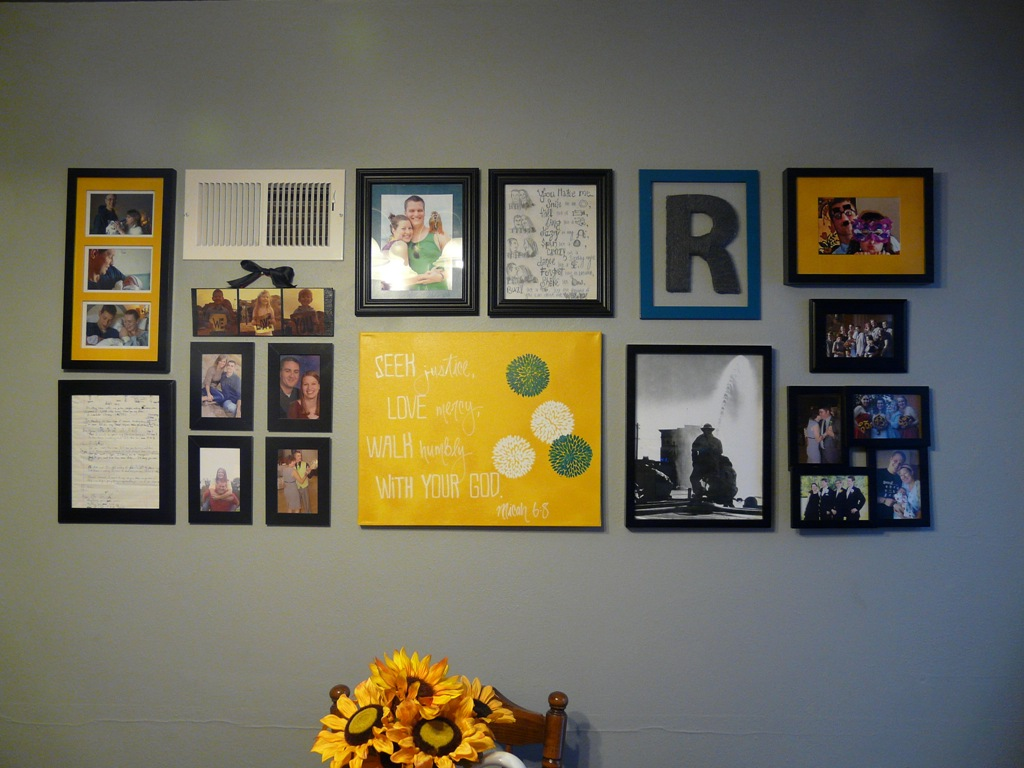 Gallery Wall Re-Do – Wonderfully Made Pursuits