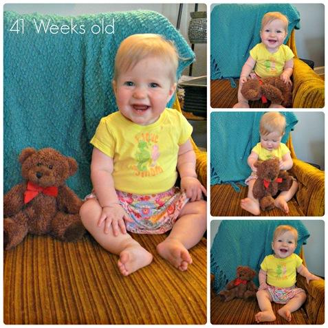 41 week Collage