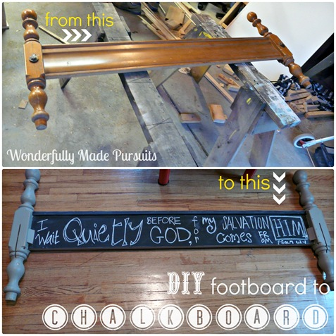 footboard Collage