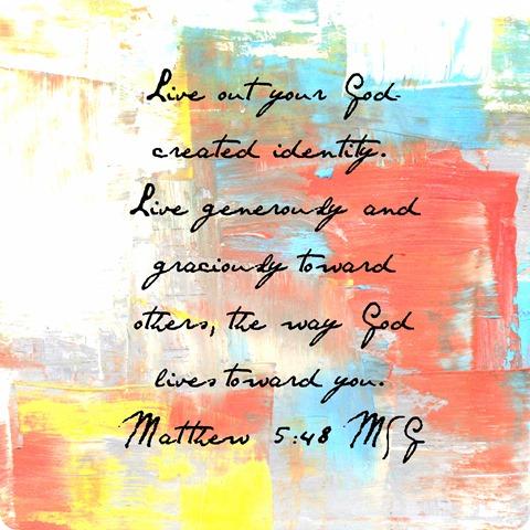 Matt 5 48