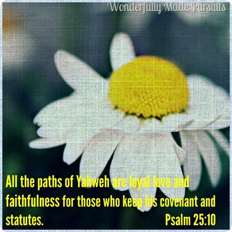 psalm 25.10