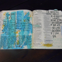 Tips for Adding Washi Tape as Book Dividers in your Journaling Bible
